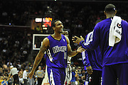 Oct. 30, 2010; Cleveland, OH, USA; \ during the third fourth quarter against the \ at Quicken Loans Arena. The Kings beat the Cavaliers 107-104. Mandatory Credit: Jason Miller-US PRESSWIRE