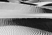 Dune Ridges, Mesquite Flat Sand Dunes, Death Valley National Park, .California