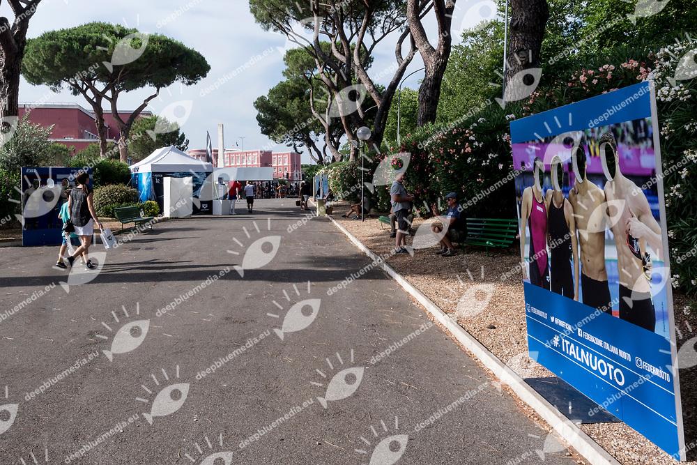 venue, allestimenti <br /> day 02 24-06-2017<br /> Stadio del Nuoto, Foro Italico, Roma<br /> FIN 54mo Trofeo Sette Colli 2017 Internazionali d'Italia<br /> <br /> Photo Giorgio Scala/Deepbluemedia/Insidefoto