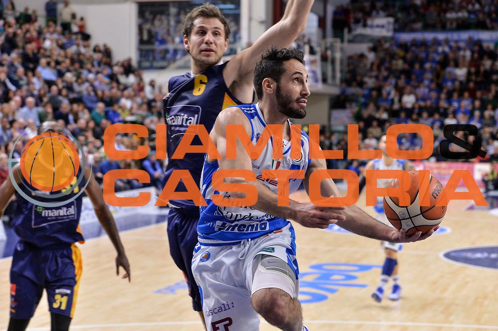 DESCRIZIONE : Beko Legabasket Serie A 2015- 2016 Dinamo Banco di Sardegna Sassari - Manital Auxilium Torino<br /> GIOCATORE : Rok Stipcevic<br /> CATEGORIA : Tiro Penetrazione Sottomano<br /> SQUADRA : Dinamo Banco di Sardegna Sassari<br /> EVENTO : Beko Legabasket Serie A 2015-2016<br /> GARA : Dinamo Banco di Sardegna Sassari - Manital Auxilium Torino<br /> DATA : 10/04/2016<br /> SPORT : Pallacanestro <br /> AUTORE : Agenzia Ciamillo-Castoria/L.Canu