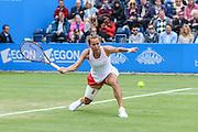 Barbora Strycova in semi final action during the Aegon Classic at Edgbaston Priory Club, Birmingham, United Kingdom on 18 June 2016. Photo by Shane Healey.