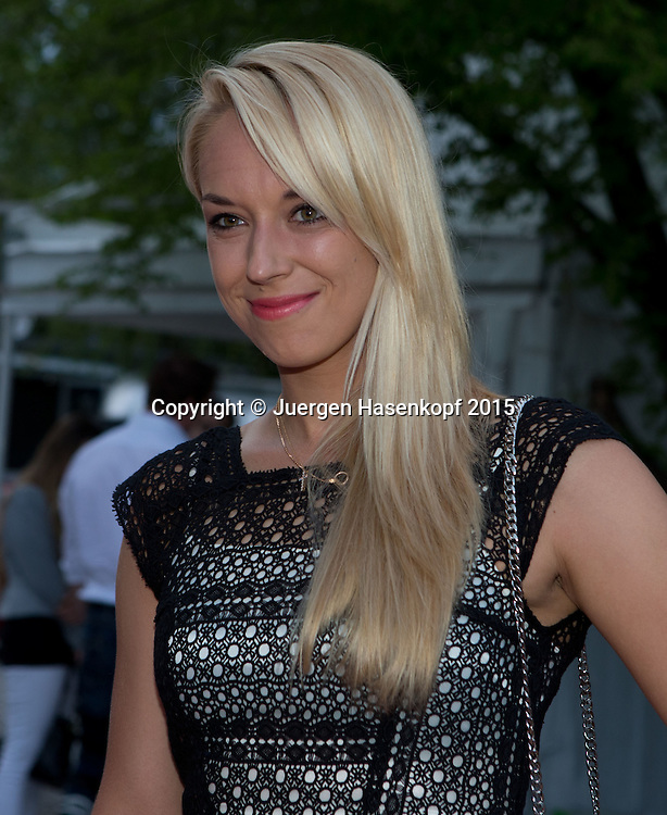 BMW Open Players Party,<br /> Sabine Lisicki ,<br /> <br /> Tennis - BMW Open - ATP -   - Muenchen - Bayern - Germany  - 27 April 2015. <br /> &copy; Juergen Hasenkopf