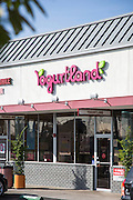 Yogurtland in San Gabriel California