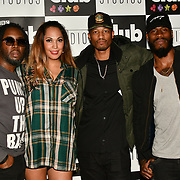 HunnyB and band members preforms at BBC Club at W12 Studios Lunch party on 14 March 2019, London, UK.