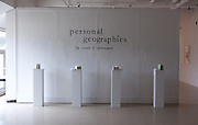 Personal Geographies, an exhibition by Sarah E Plummer