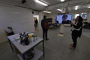 Münster, Germany. Opening days of Skulptur Projekte 2017.<br /> Koki Tanaka: Provisional Studies: Workshop #7 How to Live Together and Sharing the Unknown [Provisorische Studien: Workshop #7 Wie zusammen leben und das Unbekannte teilen], 2017