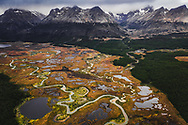 Mountains of Tierra del Fuego, Argentina