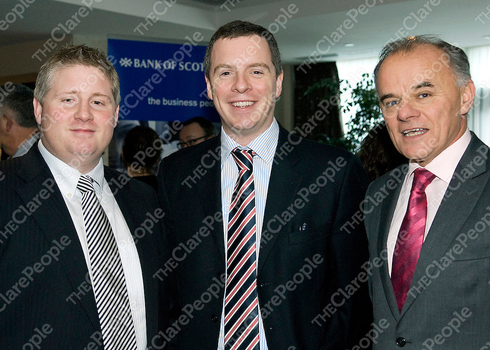 christmas lunch 2009 - (27) Colm O'Brien- Distinguished Homes, William Leahy - Leahy and Partners, Michael McNamara- HSI