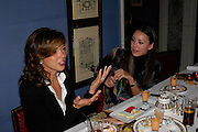 Heather Kerzner and Tamara Mellon. 'Pret-a-Portea'M.A.C. launches High Tea collection with British fashion designers. Berkeley Hotel. 17 January 2004. ONE TIME USE ONLY - DO NOT ARCHIVE  © Copyright Photograph by Dafydd Jones 66 Stockwell Park Rd. London SW9 0DA Tel 020 7733 0108 www.dafjones.com