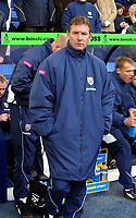 Photo: Dave Linney.<br />West Bromwich Albion v Middlesbrough. The Barclays Premiership. 26/02/2006West Brom boss .Bryan Robson