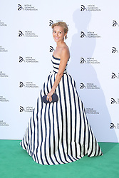 © Licensed to London News Pictures. Jelena Ristic at the Novak Djokovic Foundation London gala dinner, The Roundhouse, London UK, 08 July 2013. Photo credit: Richard Goldschmidt/LNP