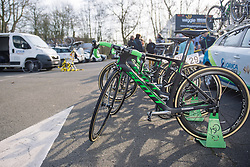 New look Scotts for Orica AIS in 2016 - 2016 Omloop het Nieuwsblad - Elite Women, a 124km road race from Vlaams Wielercentrum Eddy Merckx to Ghent on February 27, 2016 in East Flanders, Belgium.