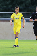 AFC Wimbledon defender Paul Robinson (6) during the Pre-Season Friendly match between Dover Athletic and AFC Wimbledon at Crabble Athletic Ground, Dover, United Kingdom on 12 July 2016. Photo by Stuart Butcher.