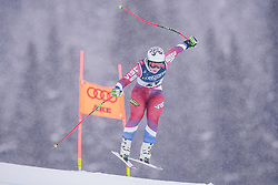 08.02.2019, Aare, SWE, FIS Weltmeisterschaften Ski Alpin, alpine Kombination, Abfahrt, Damen, im Bild Iulija Pleshkova (RUS) // Iulija Pleshkova of Russian Federation during the downhill competition of Alpine combination of the ladie's of FIS Ski World Championships 2019. Aare, Sweden on 2019/02/08. EXPA Pictures © 2019, PhotoCredit: EXPA/ Dominik Angerer