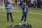 Gregor Townsend Talks to the fans during the training session and press conference for Scotland Rugby at Clydebank Community Sports Hub, Clydebank, Scotland on 13 February 2019.