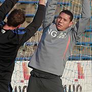 NLD/Katwijk/20110321 - Training Nederlandse Elftal Hongarije - NLD, Hedwiges Maduro krijgt aparte training
