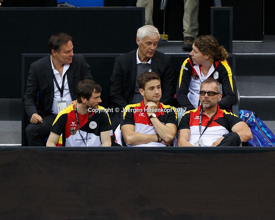 GER-UKR, Deutschland - Ukraine, <br /> Porsche Arena, Stuttgart, internationales ITF  Damen Tennis Turnier, Mannschafts Wettbewerb,