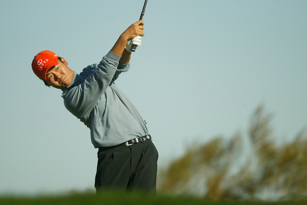 Kevin Na..2003 PGA Tour Qualifying, Final Stage.Fifth Round.Orange County National GC.Orlando, FL.Sunday, December 7  2003..Photograph by Darren Carroll..