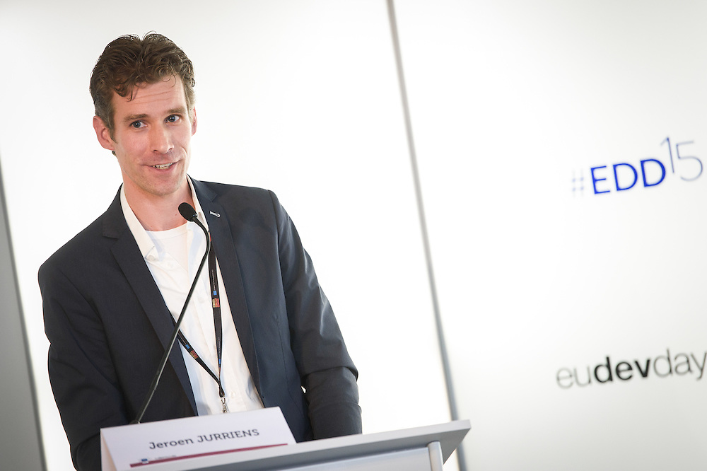 03 June 2015 - Belgium - Brussels - European Development Days - EDD - Climate - Disaster risk reduction , resilience , climate change adaptation - Connecting the dots - Jeroen Jurriens , Programme Officer Disaster Management Unit © European Union