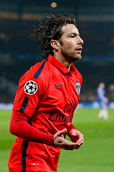 Maxwell of Paris Saint-Germain - Photo mandatory by-line: Rogan Thomson/JMP - 07966 386802 - 11/03/2015 - SPORT - FOOTBALL - London, England - Stamford Bridge - Chelsea v Paris Saint-Germain - UEFA Champions League Round of 16 Second Leg.