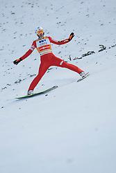 12.01.2014, Kulm, Bad Mitterndorf, AUT, FIS Ski Flug Weltcup, Zweiter Durchgang, im Bild Kamil Stoch (POL) // Kamil Stoch (POL) during the second round of FIS Ski Flying World Cup at the Kulm, Bad Mitterndorf, Austria on 2014/01/12, EXPA Pictures © 2013, PhotoCredit: EXPA/ Erwin Scheriau