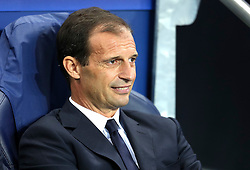 Juventus Manager, Massimilliano Allegri during the UEFA Champions League group stage match between Manchester City and Juventus at the Etihad Stadium - Mandatory byline: Matt McNulty/JMP - 07966386802 - 15/09/2015 - FOOTBALL - Etihad Stadium -Manchester,England - Manchester City v Juventus - UEFA Champions League - Group D
