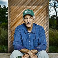 Joe Rigali of Gaining Ground Farm in Concord, MA
