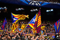 Supporter Barcelone - 21.04.2015 - Barcelone / Paris Saint Germain - 1/4Finale Retour Champions League<br />