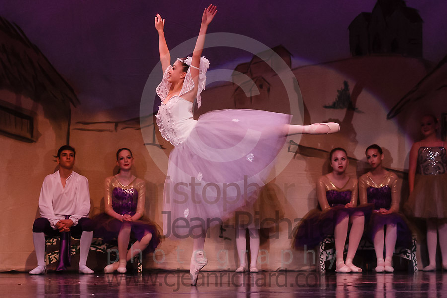 Students of the Payne Academy of Performing Arts on stage in the Dress Rehearsal for Coppelia, Neverland, and Amazing Grace.<br /> <br /> &quot;Coppelia&quot;