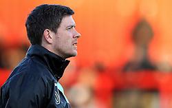 Bristol Rovers Manager Darrell Clarke - Mandatory by-line: Robbie Stephenson/JMP - 19/04/2016 - FOOTBALL - Lamex Stadium - Stevenage, England - Stevenage v Bristol Rovers - Sky Bet League Two