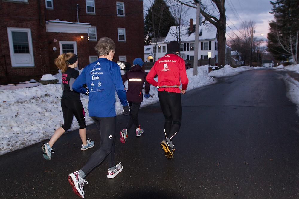Gary Allen runs from Maine to Washington DC
