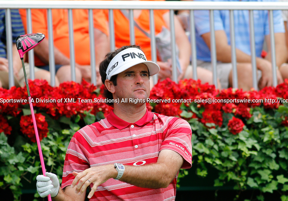 September 13, 2014:  Bubba Watson in the third round of the FedEx Cup - The Tour Championship at East Lake Golf Club in Atlanta, Georgia.