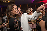 ? ALAN ENFIELD; FAYBIA FIRBANK; , London Bar & Club Awards, Intercontinental Hotel. Park Lane. London, 6 June 2016