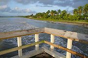 Area del Muelle de Punta Santiago en Humacao Puerto Rico. Pier area on Punta Santiago, Humacao.