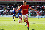 Nottingham Forest striker Federico Macheda    during the Sky Bet Championship match between Nottingham Forest and Brentford at the City Ground, Nottingham, England on 2 April 2016. Photo by Chris Wynne.