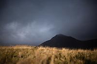Mount Axlarhyrna seen from Búðir at Snæfellsnes Peninsula, West Iceland.