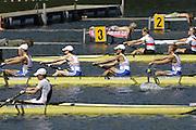 2006, U23 Rowing Championships,Hazewinkel, BELGIUM Saturday, 22.07.2006. GBR BLM4-, Bow robert WILLIAMS, Marco ESPIN, Doug PERRIN, Stephan FEENEY, Photo  Peter Spurrier/Intersport Images email images@intersport-images.com..[Mandatory Credit Peter Spurrier/ Intersport Images] Rowing Course, Bloso, Hazewinkel. BELGUIM