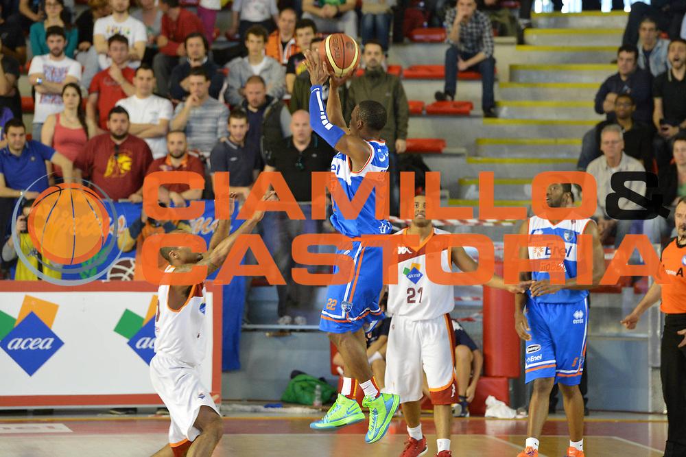 DESCRIZIONE : Roma Lega A 2012-2013 Acea Roma Enel Brindisi<br /> GIOCATORE : Jonathan Gibson<br /> CATEGORIA : three points<br /> SQUADRA : Enel Brindisi<br /> EVENTO : Campionato Lega A 2012-2013 <br /> GARA : Acea Roma Enel Brindisi<br /> DATA : 21/04/2013<br /> SPORT : Pallacanestro <br /> AUTORE : Agenzia Ciamillo-Castoria/GiulioCiamillo<br /> Galleria : Lega Basket A 2012-2013  <br /> Fotonotizia : Roma Lega A 2012-2013 Acea Roma Enel Brindisi<br /> Predefinita :