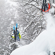 Forrest Jillson and Jim Ryan backflipping into some of the deepest powder of the last decade.
