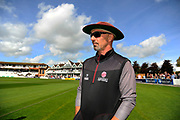 Somerset Director of Cricket Matt Maynard during the Specsavers County Champ Div 1 match between Somerset County Cricket Club and Middlesex County Cricket Club at the Cooper Associates County Ground, Taunton, United Kingdom on 28 September 2017. Photo by Graham Hunt.