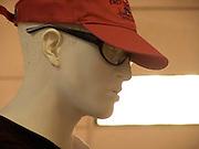 mannequin with cap
