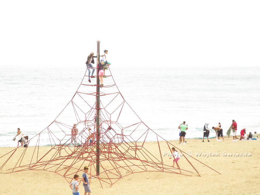 Beach scene, Barcelona