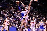 DESCRIZIONE : Milano Final Eight Coppa Italia 2014 Quarti di Finale Enel Brindisi - Umana Reyer Venezia<br /> GIOCATORE : Ron Lewis<br /> CATEGORIA : Tiro sottomano<br /> SQUADRA : Enel Brindisi<br /> EVENTO : Final Eight Coppa Italia 2014 Milano<br /> GARA : Enel Brindisi - Umana Reyer Venezia<br /> DATA : 07/02/2014<br /> SPORT : Pallacanestro <br /> AUTORE : Agenzia Ciamillo-Castoria /M.Marchi<br /> Galleria : Final Eight Coppa Italia 2014 Milano<br /> Fotonotizia : Milano Final Eight Coppa Italia 2014 Quarti di Finale Enel Brindisi - Umana Reyer Venezia<br /> Predefinita :