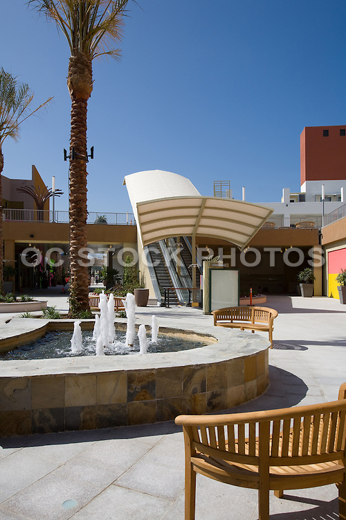 Courtyard at the Anaheim Garden Walk