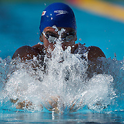 James Gibson, Great Britain, in action in the Women's 400m IM the World Swimming Championships in Rome on Sunday, August 02, 2009. Photo Tim Clayton.