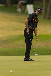 March 23, 2018 - Austin, TX, U.S. - AUSTIN, TX - MARCH 23:  Bubba Watson watches his birdie putt fall just short during the WGC-Dell Technologies Match Play Tournament on March 22, 2018, at the Austin Country Club in Austin, TX.  (Photo by David Buono/Icon Sportswire) (Credit Image: © David Buono/Icon SMI via ZUMA Press)