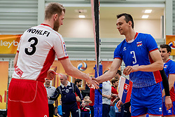 23-05-2017 NED: 2018 FIVB Volleyball World Championship qualification, Koog aan de Zaan<br /> Slowakije - Oostenrijk / Peter Wohlfahrtstatter #3, Emanuel Kohut #3