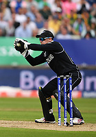 Cricket - 2019 ICC Cricket World Cup - Group Stage: New Zealand vs. South Africa<br /> <br /> New Zealand's Tom Latham in action today during the ICC Cricket World Cup match between New Zealand and South Africa, at Edgbaston, Birmingham.<br /> <br /> COLORSPORT/ASHLEY WESTERN