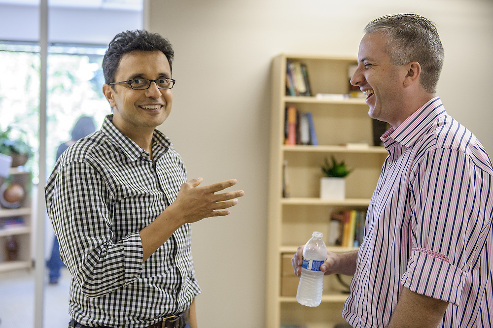 CEO, Hitesh Sheth (left) and VP of Engineering Jason Kehl (right). Vectra | Silicon Valley startup San Jose, CA