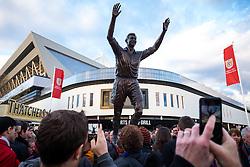 Statue of Bristol City legend John Atyeo is unveiled at the redeveloped Ashton Gate - Rogan Thomson/JMP - 05/11/2016 - FOOTBALL - Ashton Gate Stadium - Bristol, England - Bristol City v Brighton & Hove Albion - Sky Bet Championship.